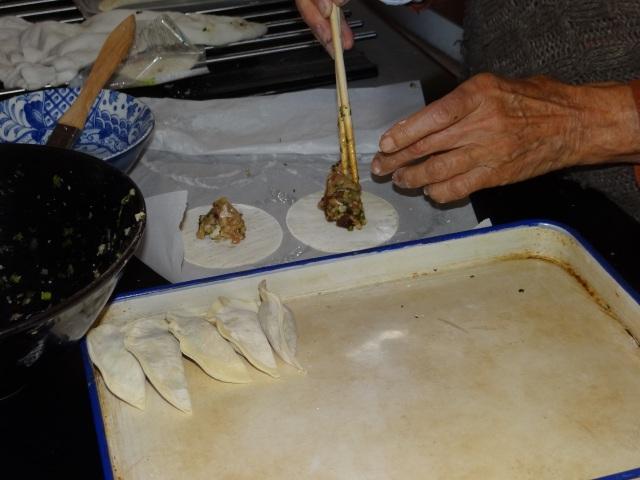 chicken & shitake mushroom filling