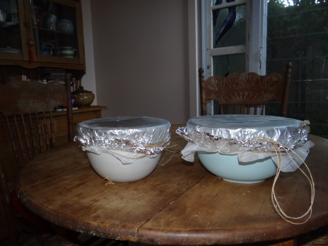 finished Xmas puddings