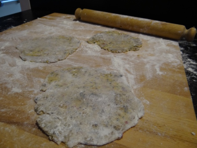 roll out flatbread